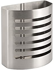 InterDesign - Forma - Porta lápices magnético de acero inoxidable - Pulido