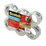 Scotch 3500-6 3500 Packaging Tape- 1.88Quot; X 54.6 Yards- 3Quot; Core- Clear- 6/Box
