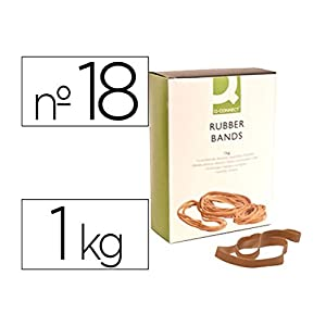 Q-Connect KF15185 Elastic Bands 180 x 16mm