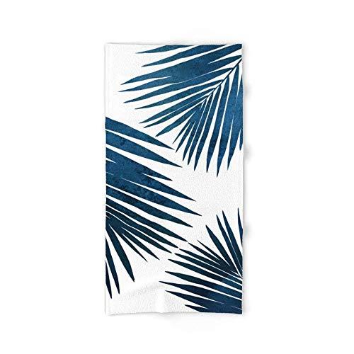 Donola Indigo Palm Fronds Badetuch 80x 130cm - Tommy Bahama Indigo