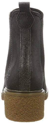 Timberland Women s Brinda Double Gore Chelsea Pull-On Chukka  Grey  Forged Iron   6 UK