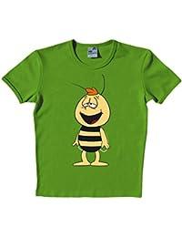 Biene Maja - Willi Kult T-Shirt, slim fit, oliv