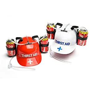 Thirst Aid Helmet Drinking Hat (Colours may vary)
