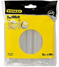 Stanley STHT1-70429 Ricariche Stick Colla, 11.3 x 100 mm, Set di 24 pz
