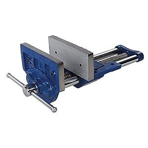 Silverline 282530 – Tornillo de banco 9.5 kg, 180mm