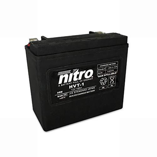 Batterie 12V 18AH HVT 01 Gel Nitro FLSTF Fat Boy 90-99