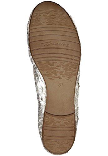 crème Tamaris Tendance Ballerina 1-22106-26 401 Beige de macramé Beige Macramee