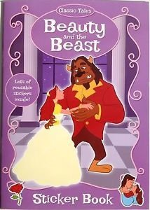 Beauty and the Beast colouring and sticker book