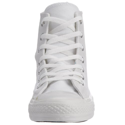 Converse Chuck Taylor All Star Adulte Seasonal Suede Hi 381310 Unisex - Erwachsene Sneaker Weiß Mono