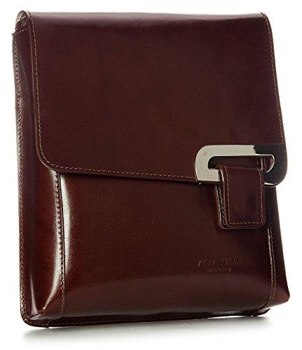 Big Handbag Shop, Borsa a tracolla donna One Marrone (Dark Tan)