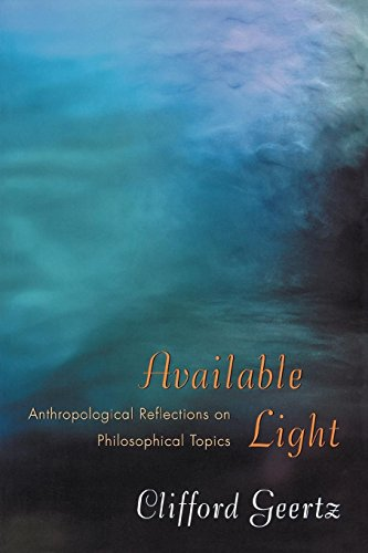 Available Light: Anthropological Reflections on ...