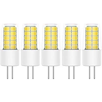 Paquete de 5 Bombillas LED G4 Lámpara LED 2W COB LED Lámpara ...
