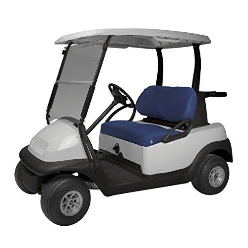 Classic Zubehör Fairway Golf Cart Diamant Air Mesh Sitzbank Cover, Unisex, Navy