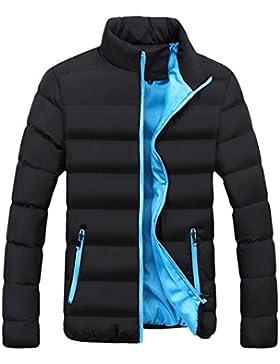 OverDose abrigos hombre invierno chaqueta liviana y delgada gruesa S-XXXL