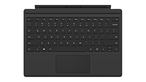 Microsoft Surface Pro 4 Type Cover - Tastaturen für Mobilgeräte (Docking, Microsoft Cover port, Microsoft, Surface Pro 4, QWERTY, Touchpad)