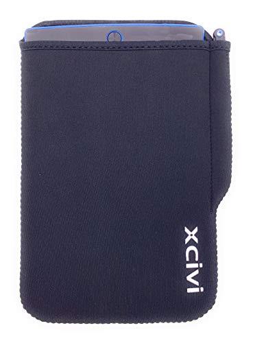 Xcivi Universal Neopren-Schutzhülle mit Stifthalterung für 21,5-9,5 Zoll LCD-Schreibtafel Tablet Schwarz schwarz - 21-zoll-tablet