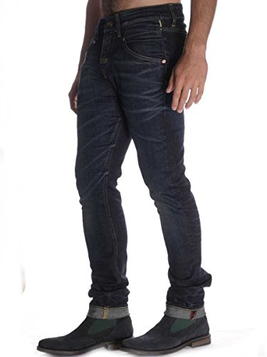 Pantalone Meltin Pot Lone in Jeans Scuro Stretch 29, Variante Unica MainApps