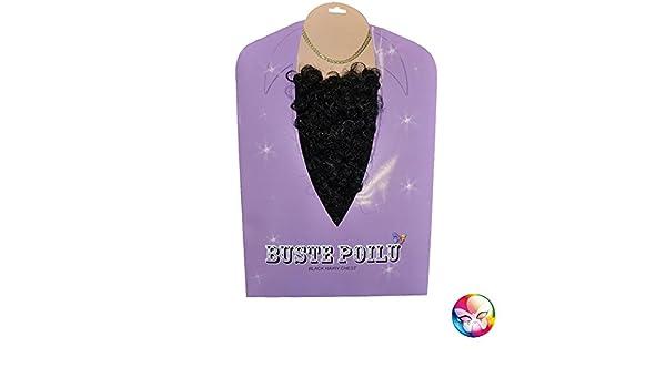 Buste poilu noir AEC AC5191