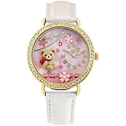 Didofà, Italian Designed Wrist Watch - Women's 3D Water Resistant Wrist Watch , DF-2000B