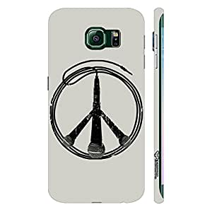 Samsung Galaxy Note5 Edge Music is Peace designer mobile hard shell case by Enthopia