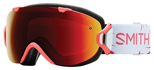 Smith Damen I/Os Goggles, Sunburst Zen/Chromapop Sun red Mirror, One Size -
