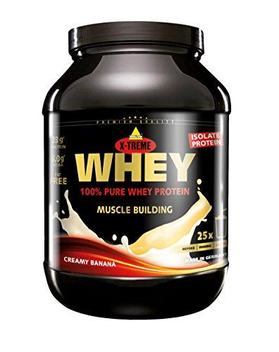 Inkospor X-Treme Whey Protein, Banane, 750g Dose -