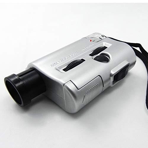 El Mini microscopio 30-60x luz detectora Dinero se