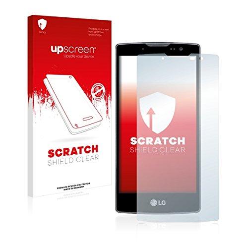 upscreen Scratch Shield Clear Bildschirmschutz Schutzfolie für LG Spirit Y70 (hochtransparent, hoher Kratzschutz)