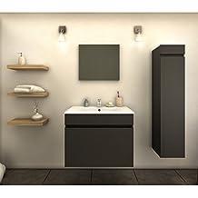 Amazon.fr : meuble salle de bain colonne vasque