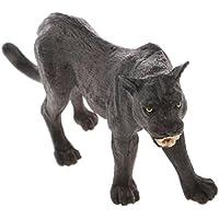 2ff2ba93b51 Homyl Realistico Black Panther Wildlife Animal Figurine Modello Figura  Regalo Kids Toy
