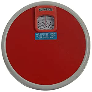 """Suvarna Mechanical Personal Scale - 12.5""""x12.5""""x3.5"""", 125 kg (Colors may vary)"""