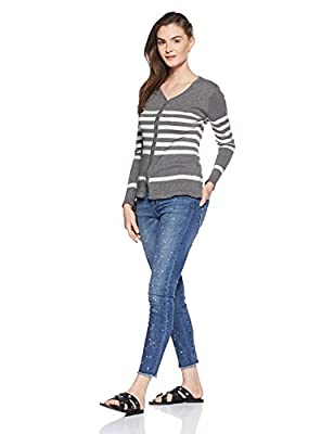 People Women's Cotton Cardigan