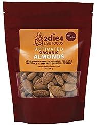 2Die4 Organic Activated Almonds, 100 g