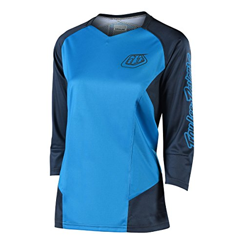 Troy Lee Designs Ruckus Girls Trail Jersey 3/4 Sleeves Blue Size M