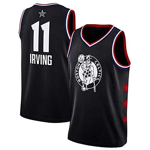 BEYONDTIME Sport Jungen Basketball Fan Trikots Irving # 11 Herren Basketball Trikot NBA Boston Celtics Jersey (Größe: S-6XL) XXXXXXL