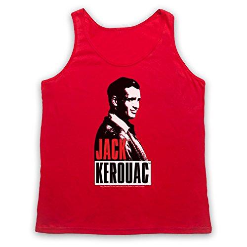 Jack Kerouac On The Road 2 Tank-Top Weste Rot