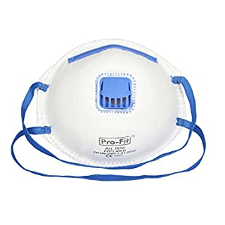 Kerbl 34512/3Fine Dust Mask FFP1with Valve in Blister Pack of 3