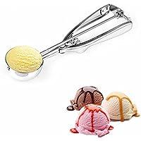 Cuillère à Glace 5 cm, Boules Cuillère à Crème Glace en Acier Inoxydable pour des Cookies et Servir de la Glace, Sorbets…