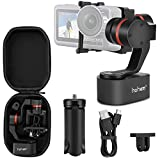 Hohem 3 Achsen Gimbal Tragbarer Stabilisator für GoPro Hero 7/6/5/4/3 Steady Kamera für...