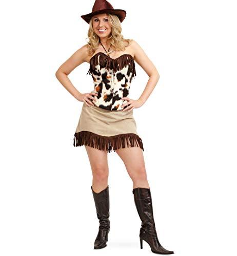 Damenkostüm Country, Corsage und Rock, Karneval, Fasching, Mottoparty (40)