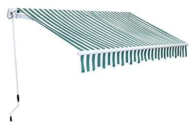 Markise Gelenkarm Gelenkarmmarkise Gelenkmarkise Sonnenschutz 300 x 250 cm Aluminium von D&S Vertriebs GmbH - Gartenmöbel von Du und Dein Garten