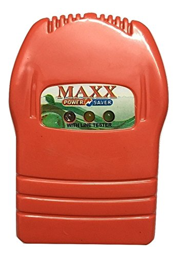 Gadget Deals Plastic Maxx Power Saver Electric Bill Saving Device   Red