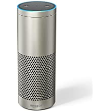 Certified Refurbished Echo Plus – With built-in smart home hub (Silver)