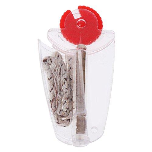 SimpleLife Encendedor Encendedor de Emergencia Aceite de Queroseno Encendedor - Piedras de sílex Impermeables Accesorios para Fumar de reemplazo de Mecha de algodón