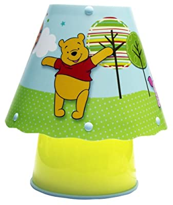 Spearmark 62823EUBOX Winnie Pooh Patchwork Tischleuchte von Spearmark international LTD - Lampenhans.de