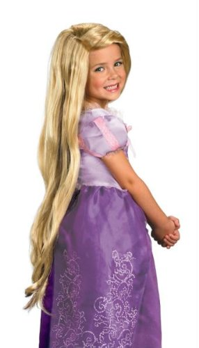 (Rapunzel Tangled Perücke Halloween Kostüme Cosplay Wig Perücke Haar für Maskerade Make-up Party)