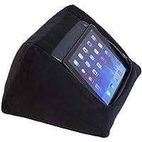 Haltekissen für iPad und andere Tabletgeräte, Schwarz Für Zuhause, das Bett oder den Schreibtisch Verhindert Verletzungen durch wiederholte Beanspruchung und Schulterschmerzen Beanbag-Füllmaterial