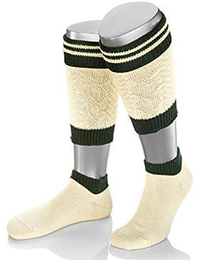 Trachten Socken mit wadenwärmer grün - trachtenlederhose herren - trachten herren - trachensocken - herren-hosen