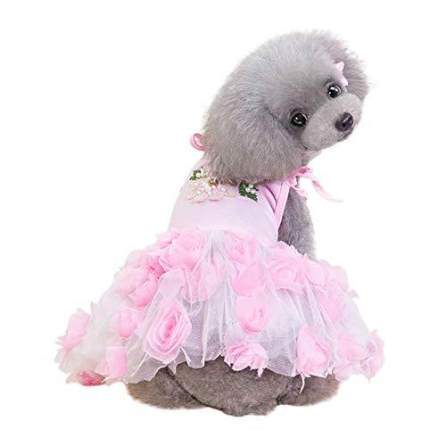 Sunshay Hund Perle Kleid Kleiner Hund Welpen Katze Hochzeit Prinzessin Kleid Hund Kleidung Bekleidung Hundkostüm