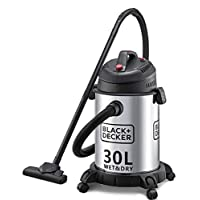 Black & Decker WV1450-B5 Wet and Dry Tank Drum Vacuum Cleaner, 1610W